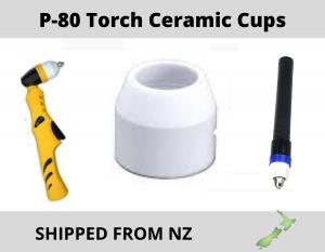 p -80 plasma torch ceramic cups