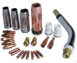 mig welding torch parts